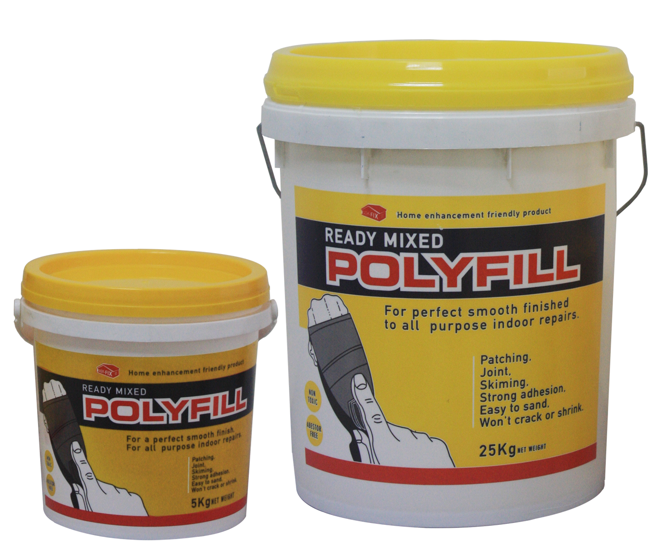 What Paint To Use On Polyfill